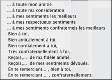 Lettres Sommaire Présentation De La Fenêtre La Barre